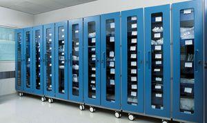 armario de medicamentos / de hospital / con puerta / modular