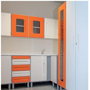 armario de medicamentos / de hospital / con cajón / con puerta