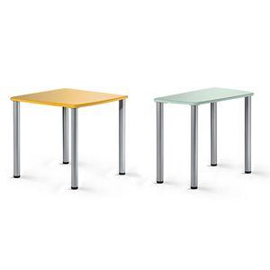 mesa para sala de espera / rectangular / cuadrada / fija