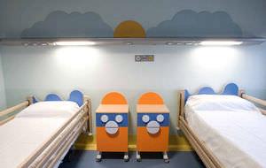 enfermería / para centro sanitario / pediátrica / modular