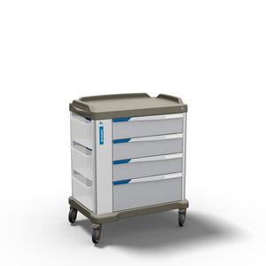 carro multifunción / de dispensación de medicamentos / de transporte / para medicamentos