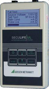 tester de corriente de fuga / para sondas de ecografía / portátil