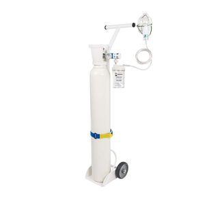 sistema de oxigenoterapia en carro