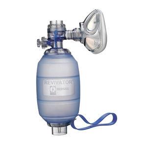 insuflador manual pediátrico / reutilizable / con válvulas de sobrepresión / de silicona