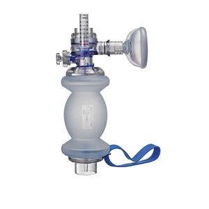 insuflador manual neonatal / reutilizable / con válvulas de sobrepresión / de silicona