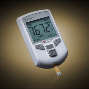 glucómetro ácido úrico / colesterol / de uso doméstico