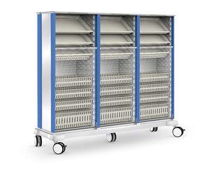 armario de transferencia / de hospital / con puerta corredera / modular