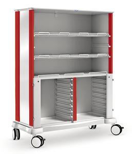 armario de transferencia / de hospital / modular / 2 módulos
