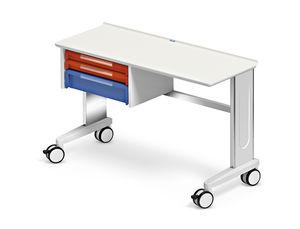 plataforma de trabajo con cajón