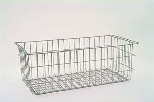 canasta para almacenamiento / de acero inoxidable / enrejado