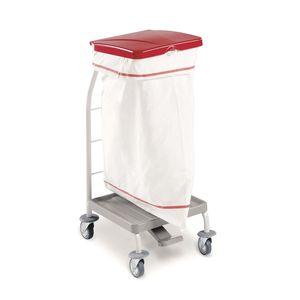 carro de transporte / para ropa sucia / 1 bolsa