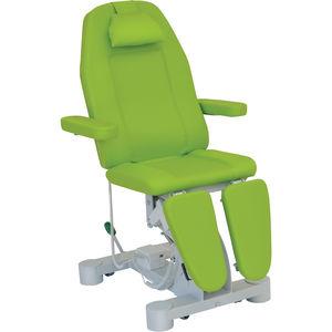 sillón de reconocimiento podológico / eléctrico / de altura variable / 3 secciones