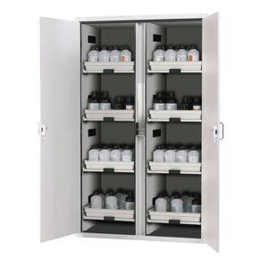 armario de seguridad / para líquido inflamable / para ácido / para material peligroso