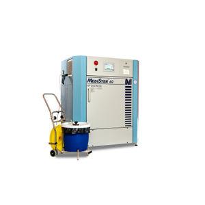 sistema de tratamiento de desechos médico / con desinfección automática / de microondas