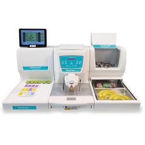 sistema de preparación de muestras semiautomático