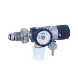 regulador de presión de oxígeno