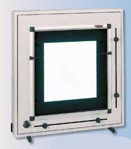 negatoscopio 1 pantalla / con interruptor / con obturadores / de luz blanca
