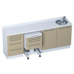 armario 4 cajones / 5 cajones / con fregadero / modular