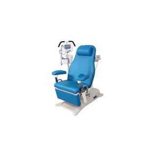 mesa de exploración eléctrica / de altura variable / reclinable / con respaldo regulable