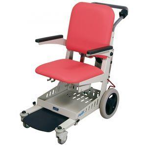 silla de traslado de pacientes de interior / con ruedas / con reposapiernas