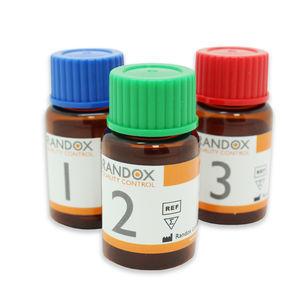 reactivo de control de calidad / glutatión reductasa / de química clínica / de muestras de sangre