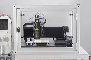 dispensador de medios automatizado / para investigación y desarrollo / de laboratorio / compacto