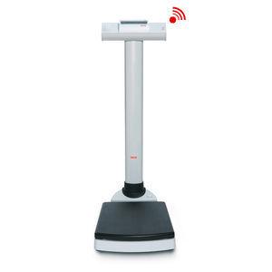 balanza pesa-personas electrónica / con indicador digital / plataforma / de columna