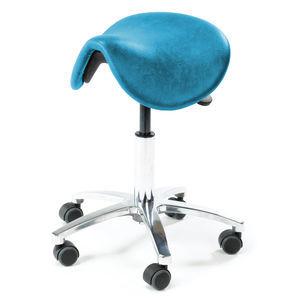 taburete con forma de silla de montar