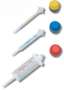 jeringa de manipuación de líquidos / de laboratorio