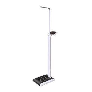 balanza pesa-personas electrónica / con pantalla LED / de columna / con cálculo del IMC