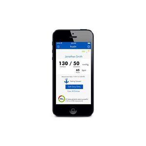 aplicación para iOS para monitor de presión arterial