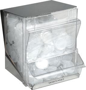 dispensador de tapas para vasos