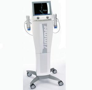 generador de ondas de choque extracorpóreas para la medicina estética / en carro