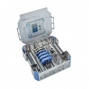 contenedor para instrumental quirúrgico / hueco / esterilizable