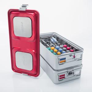 contenedor de esterilización para instrumental / no perforado