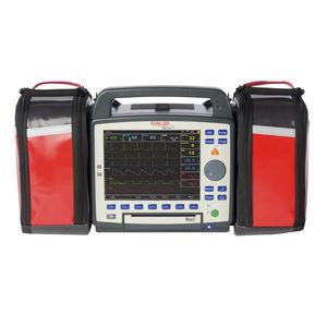 desfibrilador externo semiautomático / manual / inalámbrico / con monitor multiparamétrico