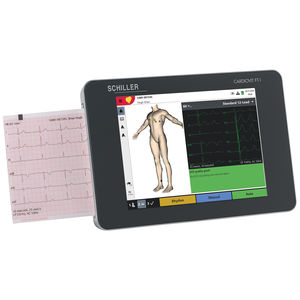 electrocardiógrafo para diagnóstico en reposo