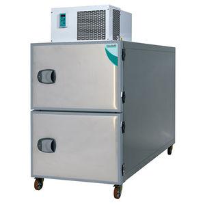 cámara mortuoria frigorífica para camillas mortuorias / 2 cuerpos / de carga frontal