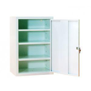 armario para medicamentos / de hospital / con estantes / con 1 puerta