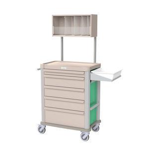 carro para cuidados / de uso general / con cajón / con cajetines