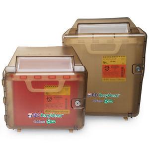 armario de seguridad / para desechos / de hospital