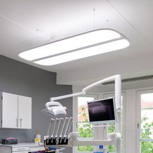 iluminación de hospital