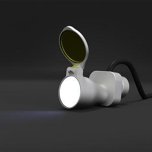 lámpara frontal para odontología