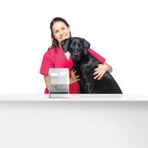 escáner de placas fotoestimulables de veterinaria