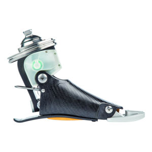 prótesis externa de pie controlada por microprocesador