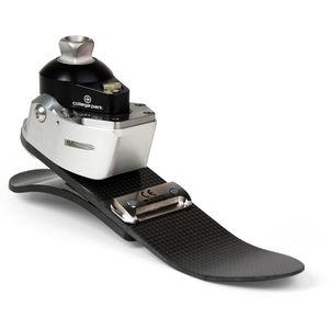 prótesis externa de pie de reacción dinámica / hidráulica / 3 / para la marcha