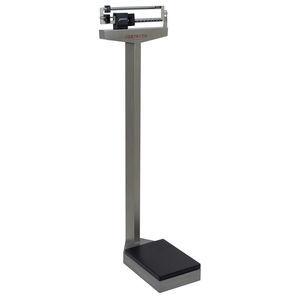 balanza pesa-personas mecánica / con contrapeso / de columna / con medidor de talla