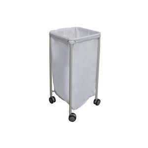 carro de transporte / para ropa sucia / 1 bolsa / médico