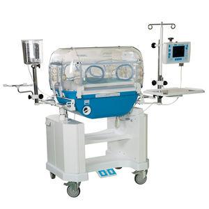 incubadora neonatal con monitor