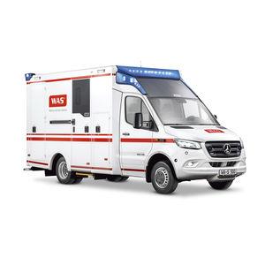 ambulancia de salvamento / con cuerpo modular independiente / tipo C